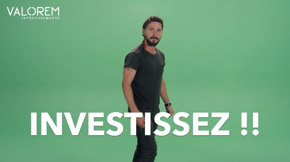 VALOREM & Shia Labeouf : JUST DO IT !