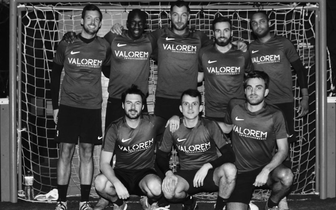VALOREM FOOTBALL TEAM VICE-CHAMPIONS DE PARIS 2K17